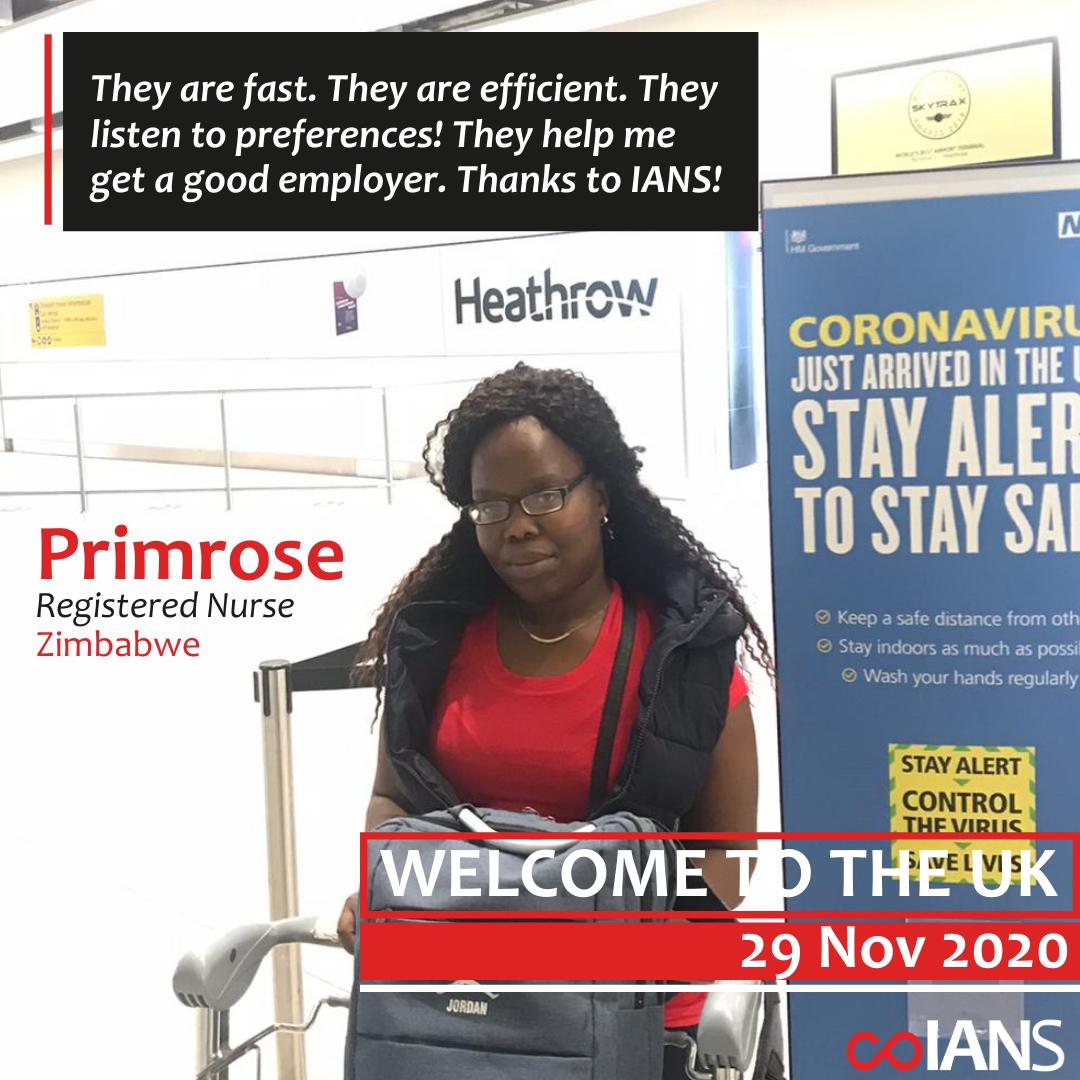 Welcome Primrose Nyama