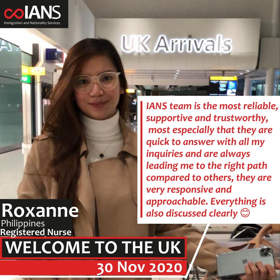 Welcome Roxanne
